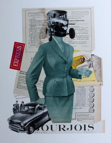 Express 2018 Collage 50 x 40 cm