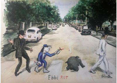 _Otto ebbi rot_Print auf Canvas_web